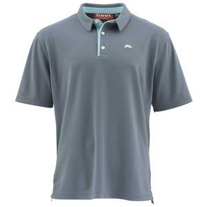 Simms Fishing Products Grey Aqua Shirt XL